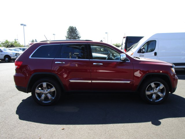 Pre Owned 2012 Jeep Grand Cherokee Overland Sport Utility In Hillsboro  #D6426 | Dicku0027s Country Chrysler Jeep Dodge