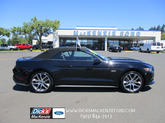 Pre Owned 2015 Ford Mustang Gt Premium Convertible Convertible In