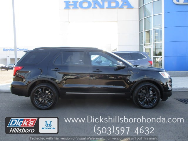 Pre Owned 2017 Ford Explorer Xlt Suv In Hillsboro 8h0081a Dicks
