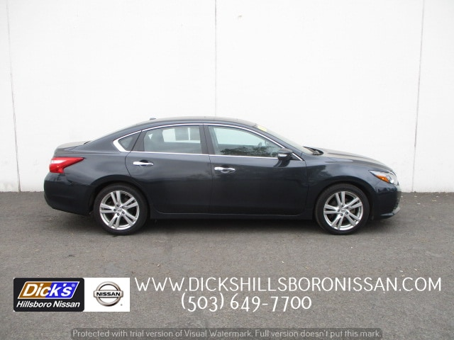 ... FRONT WHEEL DRIVE SEDAN. Pre Owned 2017 Nissan Altima 3.5 SL