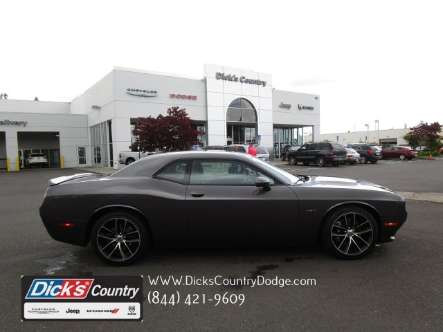 New 2018 Dodge Challenger R T Plus Coupe In Hillsboro 081029