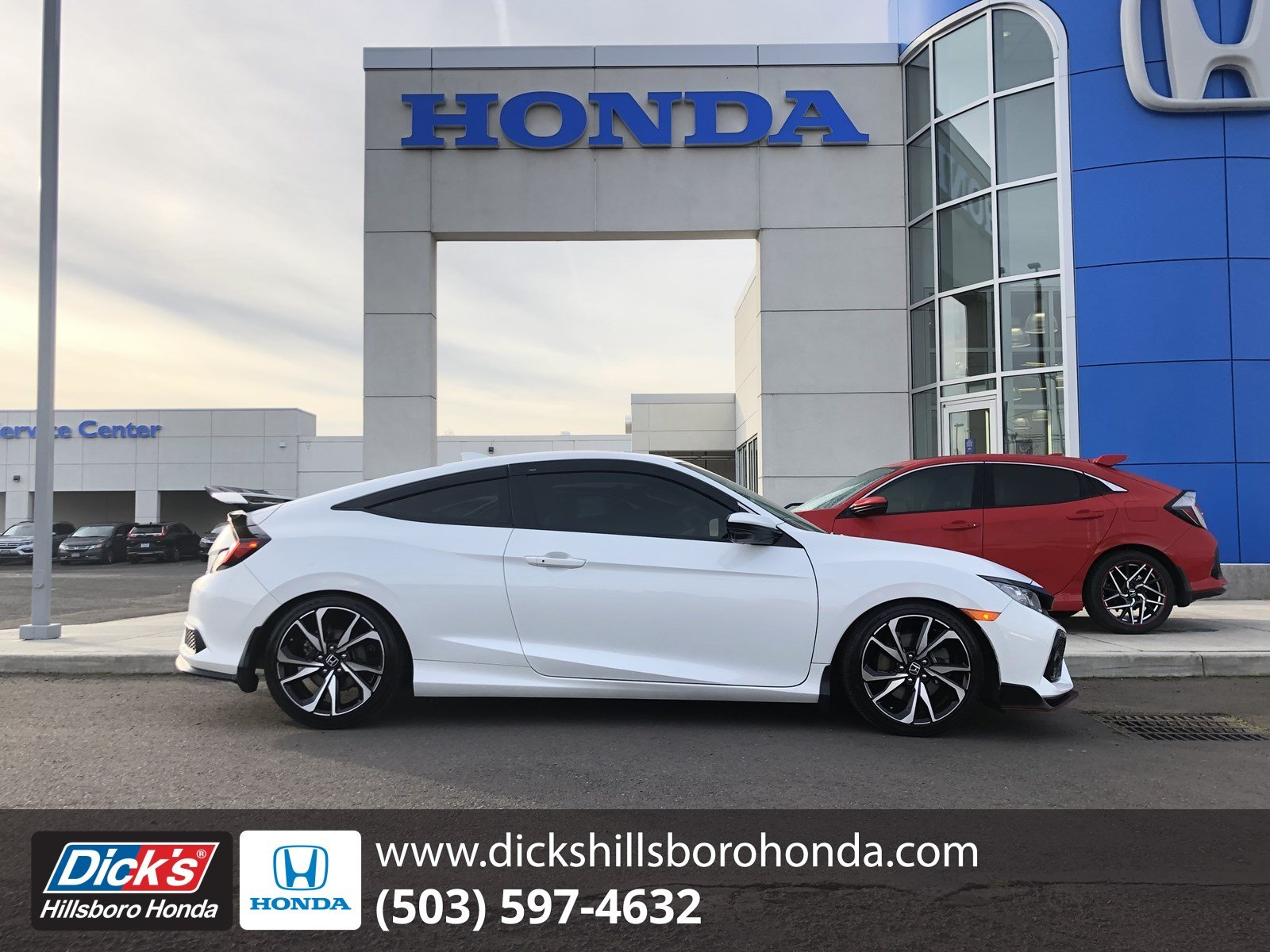 Pre-Owned 2018 Honda Civic Si Coupe