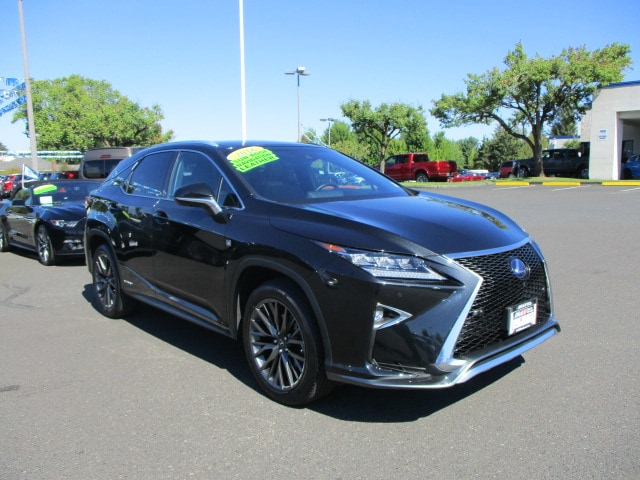 Pre-Owned 2016 Lexus RX 450h F Sport SUV in Hillsboro #288584A ...