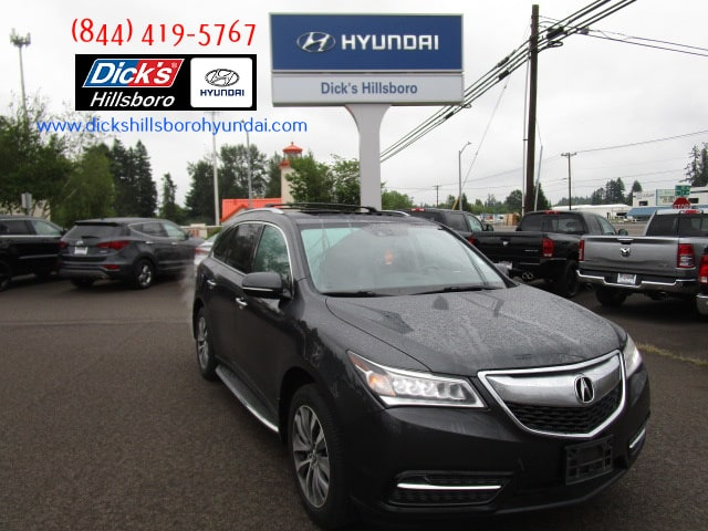 Pre-Owned 2014 Acura MDX MDX SH-AWD with Technology Package