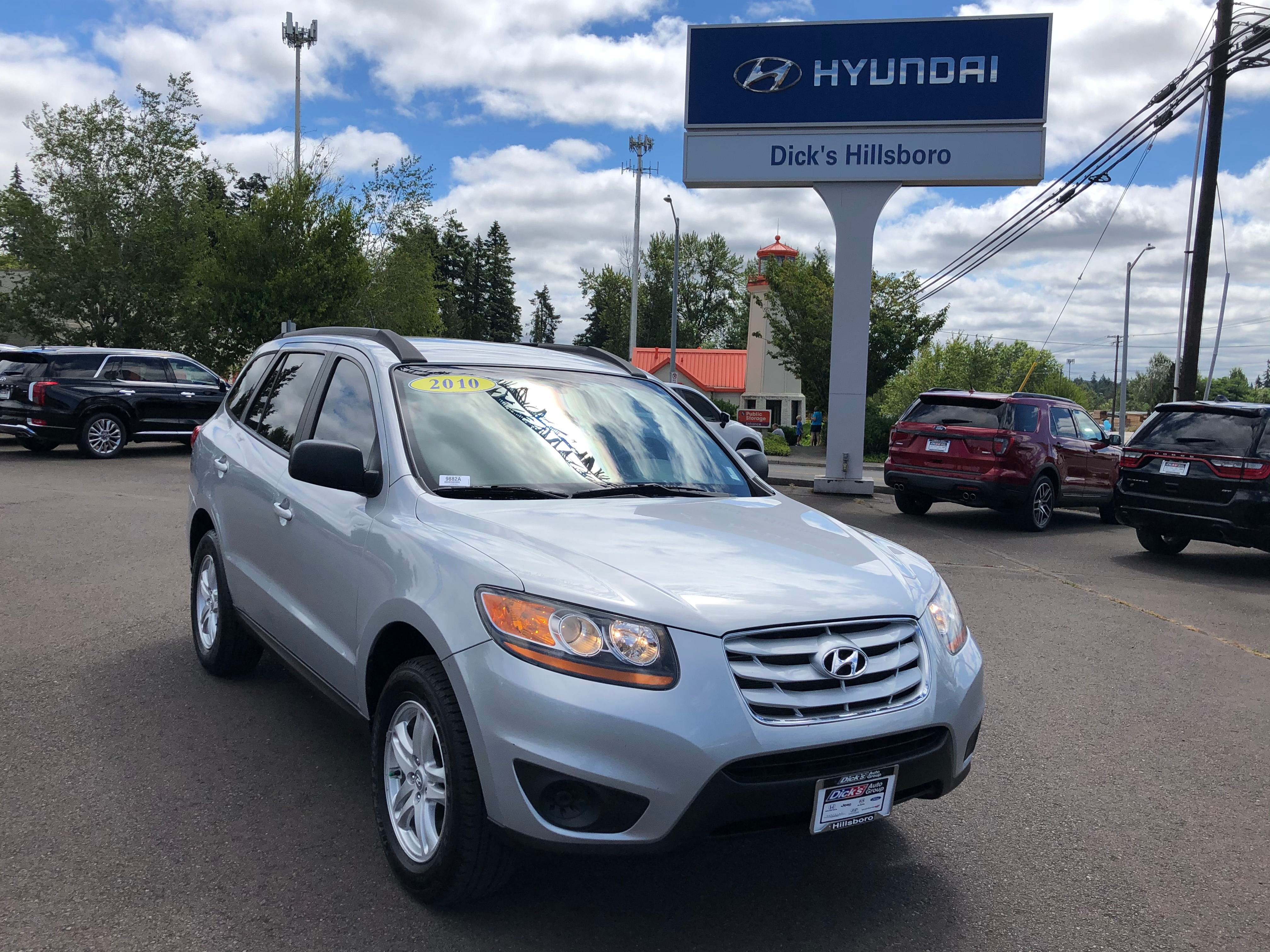 Pre Owned 2010 Hyundai Santa Fe Gls Suv In Hillsboro 9882a Dick S Country Chrysler Jeep Dodge