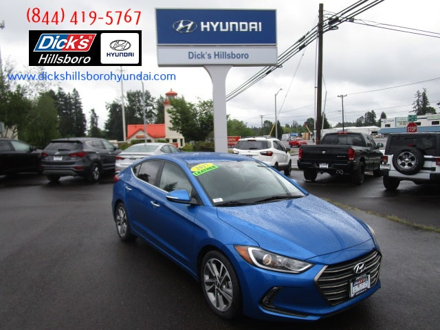 Pre-Owned 2017 Hyundai Elantra Limited w/PZEV