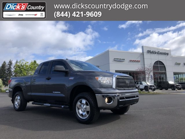 Pre-Owned 2011 Toyota Tundra 4WD Truck Grade