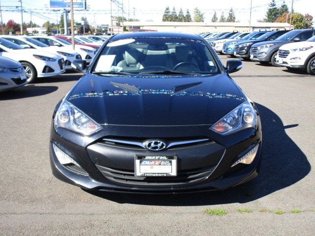 Pre Owned 2015 Hyundai Genesis Coupe 3.8 Ultimate W/Black Seats