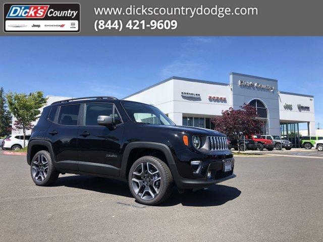 Jeep Renegade Limited >> New 2019 Jeep Renegade Limited 4x4