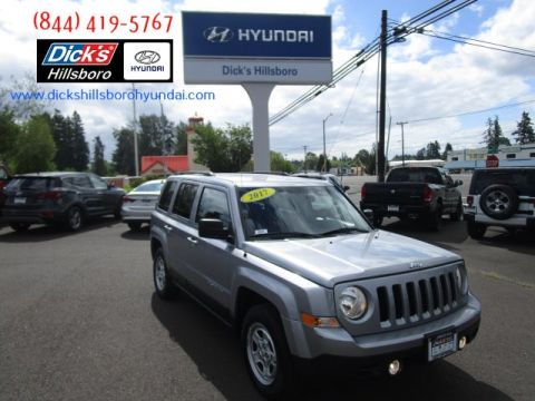 Pre-Owned 2017 Jeep Patriot Sport FWD