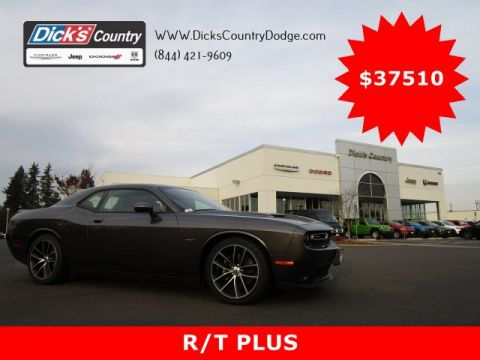 New 2018 DODGE Challenger R/T Plus