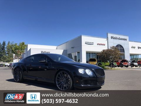 Pre-Owned 2014 Bentley Continental GT Speed BLACK