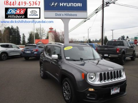 Pre-Owned 2016 Jeep Renegade Limited FWD
